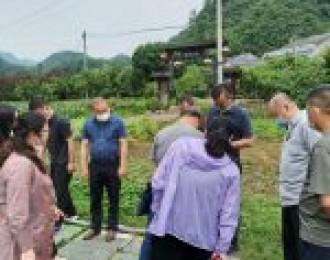 """省农业农村厅来我市调研 农村""""厕所革命""""工作"""